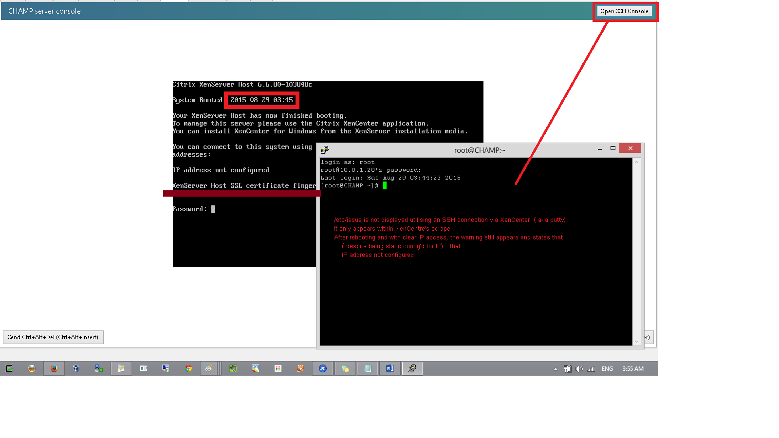 XSO-342] IP address not configured - bugs xenserver org