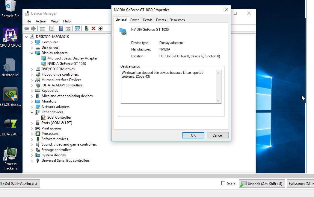 XSO-795] Various NVIDIA GPU passthrough don't work returning
